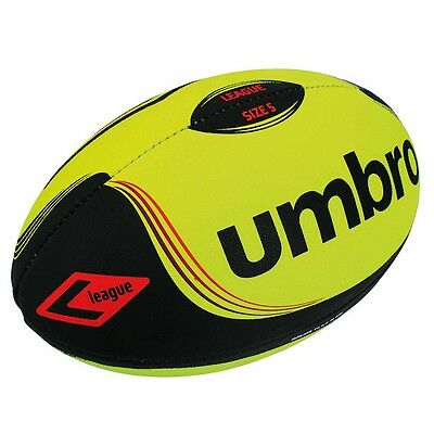 Umbro LEAGUE FLURO BALL Size-5, Synthetic Rubber Outer, Yellow/Black *UK Brand