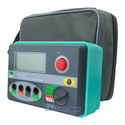 DY30-2 Insulation Tester Megohm Meter Megohmmeter Green High-quality Brand NEW
