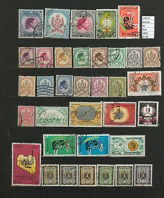 Stamps Lot Libya  Used     (L16131)