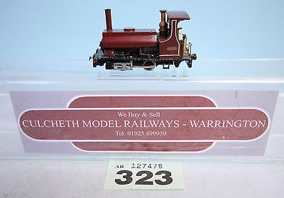 KIT BUILT 'HOe/009' NARROW GAUGE 'ARGILE' STEAM LOCO IBERTREN CHASSIS #323
