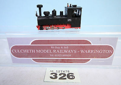 MINITRAINS 'HOe/009' NARROW GAUGE 0-8-0 BLACK INC LIGHTS UNBOXED  #326