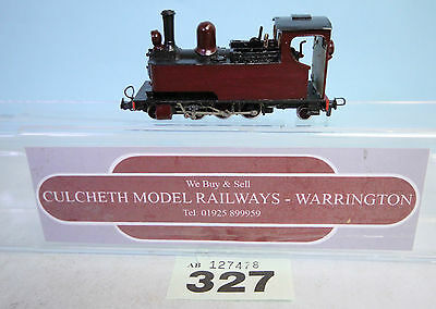 KIT BUILT 'HOe/009' NARROW GAUGE 2-6-2 STEAM LOCO TRIX CHASSIS #327