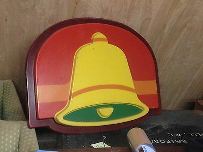 Rare Vintage 1980s TACO BELL Restaurant Lighted Store Sign