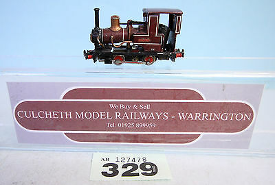 KIT BUILT 'HOe/009' NARROW GAUGE 0-4-0 'DOLGOON' LOCO FFESTINIOG RAILWAY #329