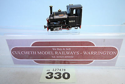 KIT BUILT 'HOe/009' NARROW GAUGE 0-4-0 'TOAD' LOCO IBERTREN CHASSIS #330