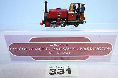 KIT BUILT 'HOe/009' NARROW GAUGE 0-4-2 STEAM LOCO #331