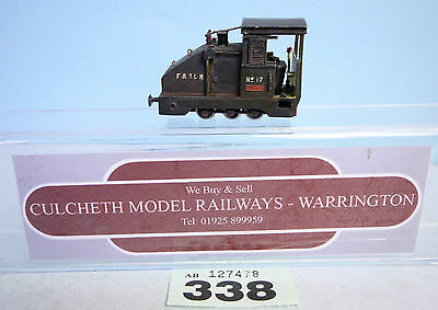 KIT BUILT 'HOe/009' NARROW GAUGE 0-6-0 'F&TLR' NO.17 LOCO #338