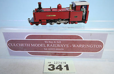 KIT BUILT 'HOe/009' FFESTINIOG 2-8-0 STEAM LOCO 'EARL OF MERIONETH' #341