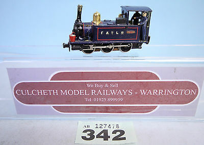 KIT BUILT 'HOe/009' BLUE 'F&TLR' LIVERY STEAM LOCO 'BLYTHE' #342