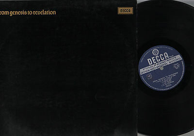 Lp From Genesis To Revelation Made In Italy Unboxed Decca Label 1° Press!!!