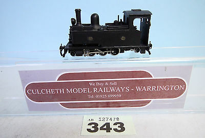 KIT BUILT 'HOe/009' BLACK LIVERY 2-6-2 STEAM LOCO TRIX CHASSIS #343
