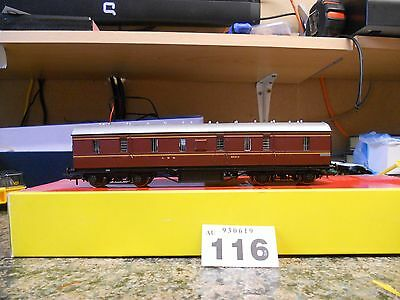 Hornby  LMS Full Brake Coach (R4233) (Grade A) (116)