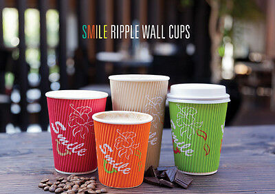12oz Ripple Wall Hot Drink Paper Cups
