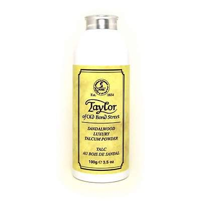 Taylor of Old Bond Street Sandalwood Talcum Powder 100g