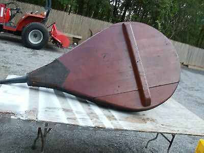 Antique Industrial Fireplace Bellow  Coffee Table