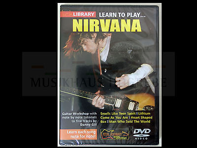 Learn to play Nirvana Lick library DVD Video