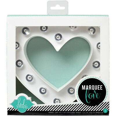 "American Crafts Heidi Swapp Marquee Love Letters, Numbers & Shapes 8.5""-Heart"
