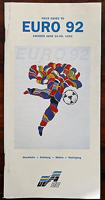 Your Guide to Euro 92 - Official pocket guide of the 1992 European Championship