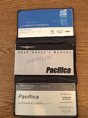 2006 chrysler pacifica owners manual set w case 14 99 picclick rh picclick com 2006 pacifica owners manual 2006 pacifica owners manual
