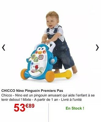 Chicco Trotteur Pingouin