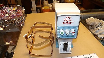 Pepsi collectible radio - Counter top Soda dispenser style - original promo item