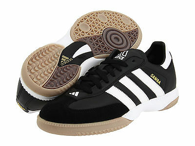 Mens Adidas Samba Millennium IN Black Sport Indoor Soccer Shoes 088559 Size  8.5 41d82abe0