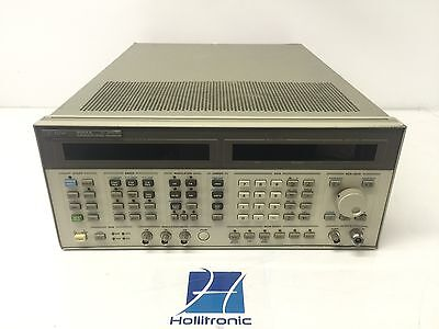 Agilent HP 8664A  0.1-3GHz Synthesized High-Performance Signal Generator