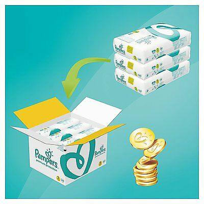 Pampers Premium Protection Nappies Monthly Saving Pack - Size 3, Pack of 204