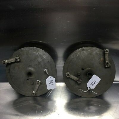 USED '73 BMW /5 /6 Front Brake Plate. R50 R60 R75 WITH SHOES. 2 of 3 Brake Lever