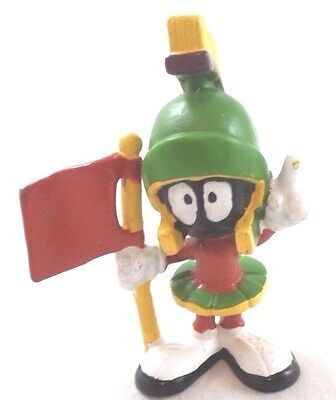 wb Marvin Martian PVC MARS Flag in hand Looney Tunes Warner Brothers Bros Figure