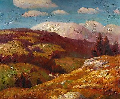"""Landscape Original Oil Painting on Stretched Canvas 20""""X24"""""""