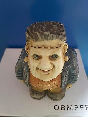 Harmony Kingdom Pot Belly Frankenstein Mib  By Bgkcollectibles