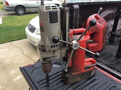 """Milwaukee 4202/4262-1 Adjustable Electromagnetic Drill Press with 3/4"""" Motor"""