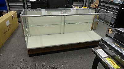 Large Glass And Aluminum Full View Retail Shop Display Case