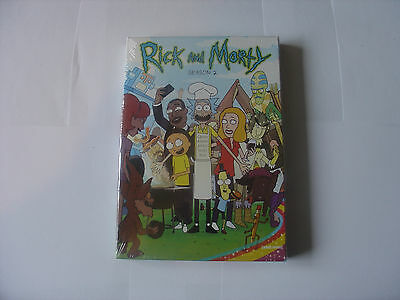 Rick And Morty Season 2 On Dvd Uk Seller Fast Delivery