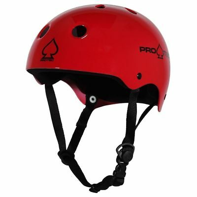Protec Classic Skate Helmet - Gloss Red  - Size Small - Skate Scooter
