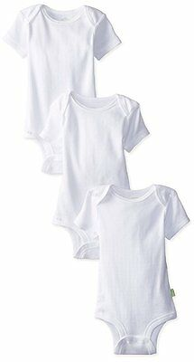 Disney Baby Cuddly Onsie Bodysuit Huggable Cotton White 0-3 Months 3 Pack SALE