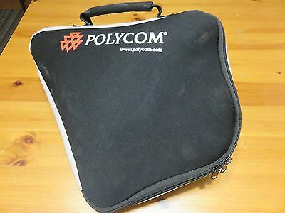 Polycom SoundStation 2 Analog Conference Phone 2200-16000-001 with bag