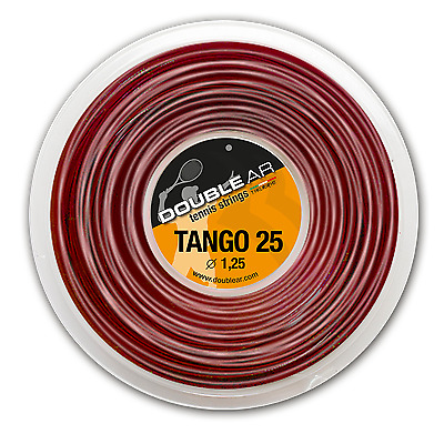 DOUBLE AR TANGO 25 - Corda Tennis 1 MATASSA 200mt - Tennis string 1 REEL 200mt