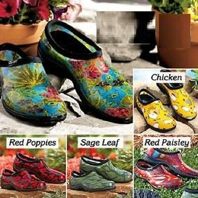 Sloggers Waterproof Shoe Garden Rugged Treads  Durable Yard Pick Color and size