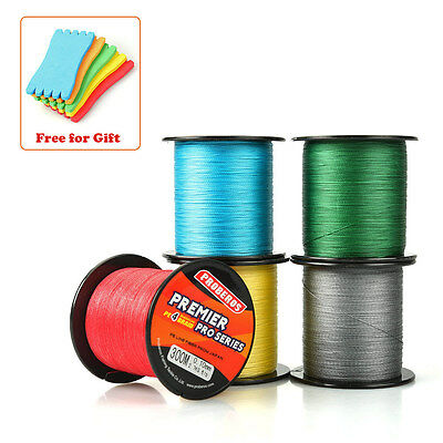 4 Stands Super Strong PE Braided Fishing Line Multifilament Angling Accessories