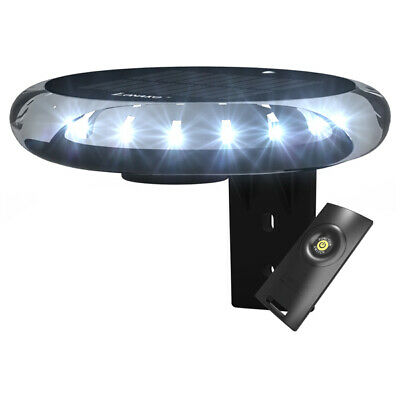 Navigation Light, Solar & Wind Charged 360 Degree Anchor Light All Round White