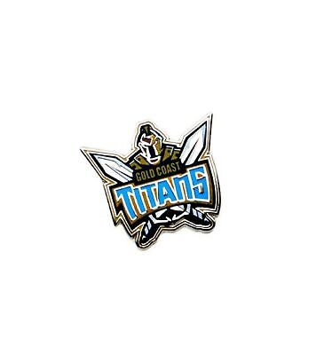 Gold Coast Titans Official NRL Logo Lapel Tie Pin FREE POST