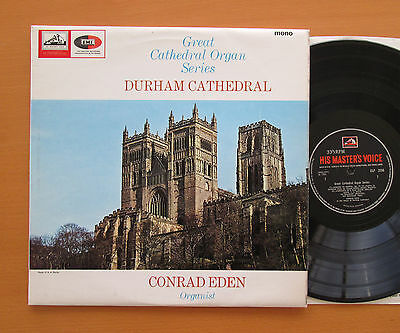 CLP 3550 DURHAM CATHEDRAL Great Cathedral Organ Series 1966 HMV Mono EXCELLENT