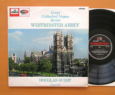 CSD 1541 WESTMINSTER ABBEY Great Cathedral Organ Series 1964 HMV Stereo VG/VG