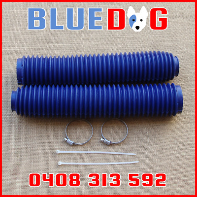 Fork Gaiters Large Blue 340mm Long 40mm At Top 60mm At Bottom 263652