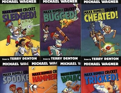 Maxx Rumble Cricket 7 books by Michael Wagner and Terry Denton ALL BRAND NEW!