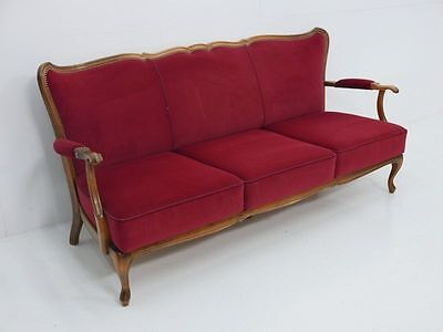1100-Chippendale Bank-Sessel-Stuhl-Chippendale-Sitzbank-Couch