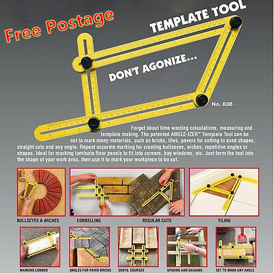 New Multi Angle Ruler Template Tool General Tools NO.836 hot sale ZJ