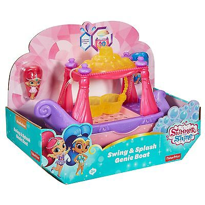 Shimmer N Shine Swing & Splash Genie Boat From Debenhams